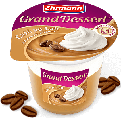 Ehrmann grand desszert Cafe au lait 190g